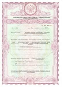Лицензия черный лом стр. 1